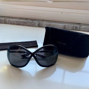 100% Authentic Black Tom Ford Whitney Sunglasses